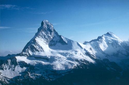 Matterhorn set fra toppen af Unter Gabelhorn