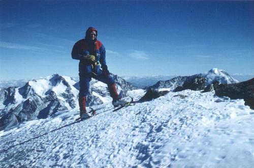 Tom på toppen af Ulrichshorn