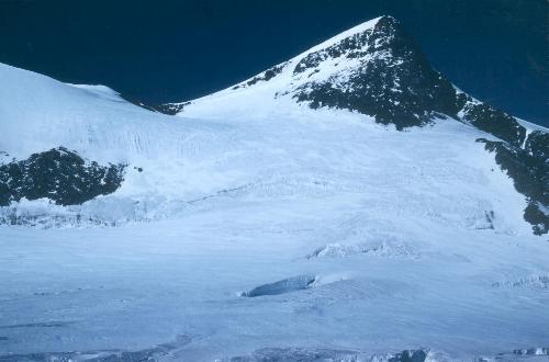 Ulrichshorn set fra toppen af Hohbalmgraten (3625m) den 15.10.89