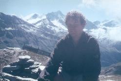 Ab Zijp under vor fælles bestigning af  Corne de Sorebois sommeren 1999