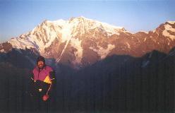 Solopgang fra toppen (Joderhorn)