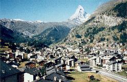 Zermatt med det berømte Matterhorn