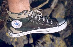 Converse All Stars Hi-Top Camouflage