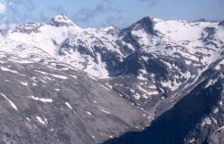 Joderhorn og Monte Moro set fra Klein Allalin