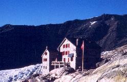 ViaAlpina - Bjerghytter: Monte Rosa-Hütte