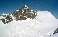 Liskamm E set fra toppen af Piramide Vincent