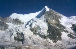Ober Gabelhorn set fra Cabane Mountet