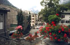 St. Niklaus er en af de vigtigste byer i Mattertal