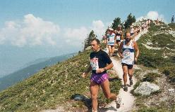 1991: Passagen under La Nava, højeste punkt på Sierre-Zinal