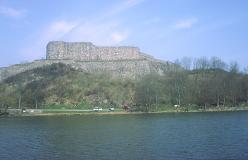 Fæstningen udenfor Kungälv markerer ankomsten til Bohuslän