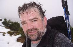 Jan Bønding under opstigning til Reiteralpe i Berchtesgaden