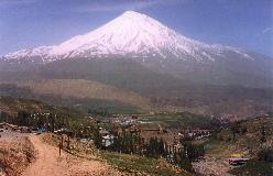 Damavand - Irans højeste bjerg