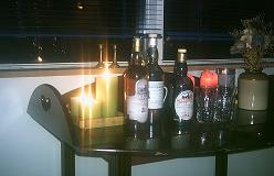 Programmet for aftenens whiskysmagning - ikke for teenagere.