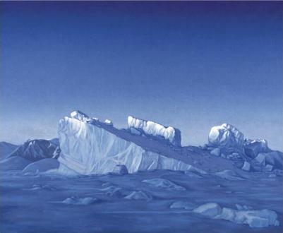 ARCTICA, akryl på lærred, 166 x 200 cm, 2003