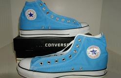 Carolina Blue er en af de nye farver der vil præge mine Converses det kommende års tid og længere.