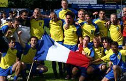 Paris PAEC, vindere af IGLFA World Championship i fodbold.