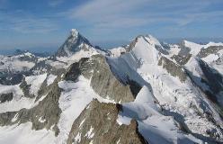 Trifthorn set fra toppen af Zinalrothorn