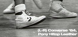 Converse '84 & Pony Hitop Leather